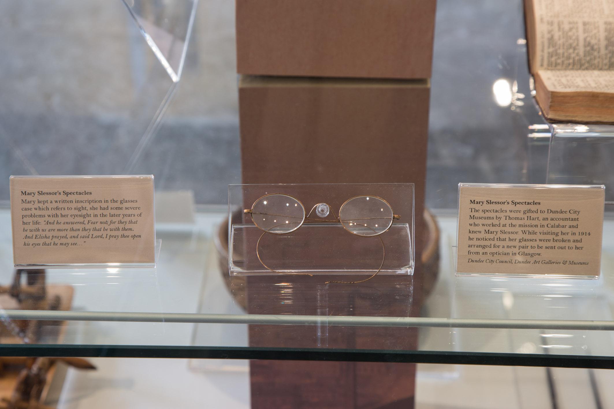 Mary Slessor's Glasses
